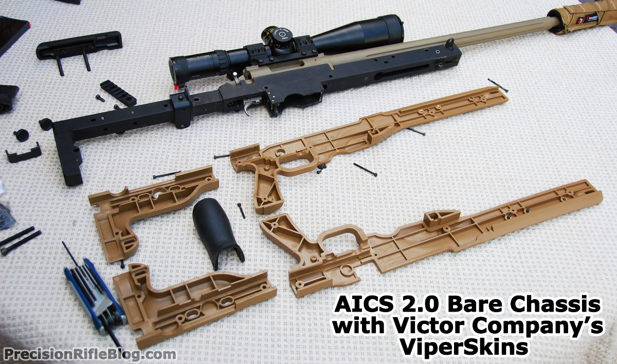 AICS 2.0 Bare Chassis with Victor Company's ViperSkins