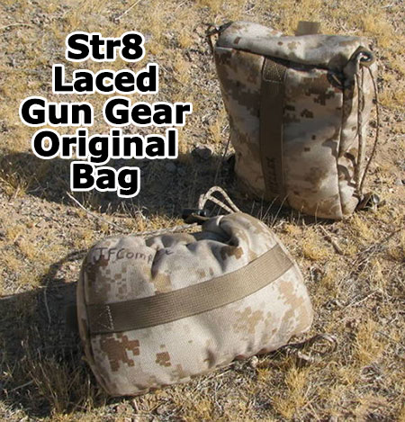 Str8 Laced Gun Gear Rear Bag Shooting Rest