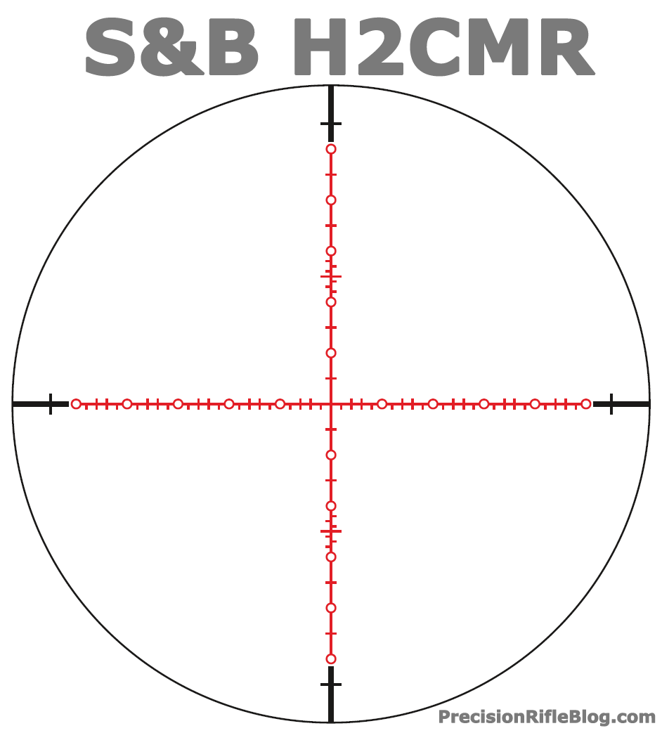 Schmidt and Bender H2CMR Scope Reticle