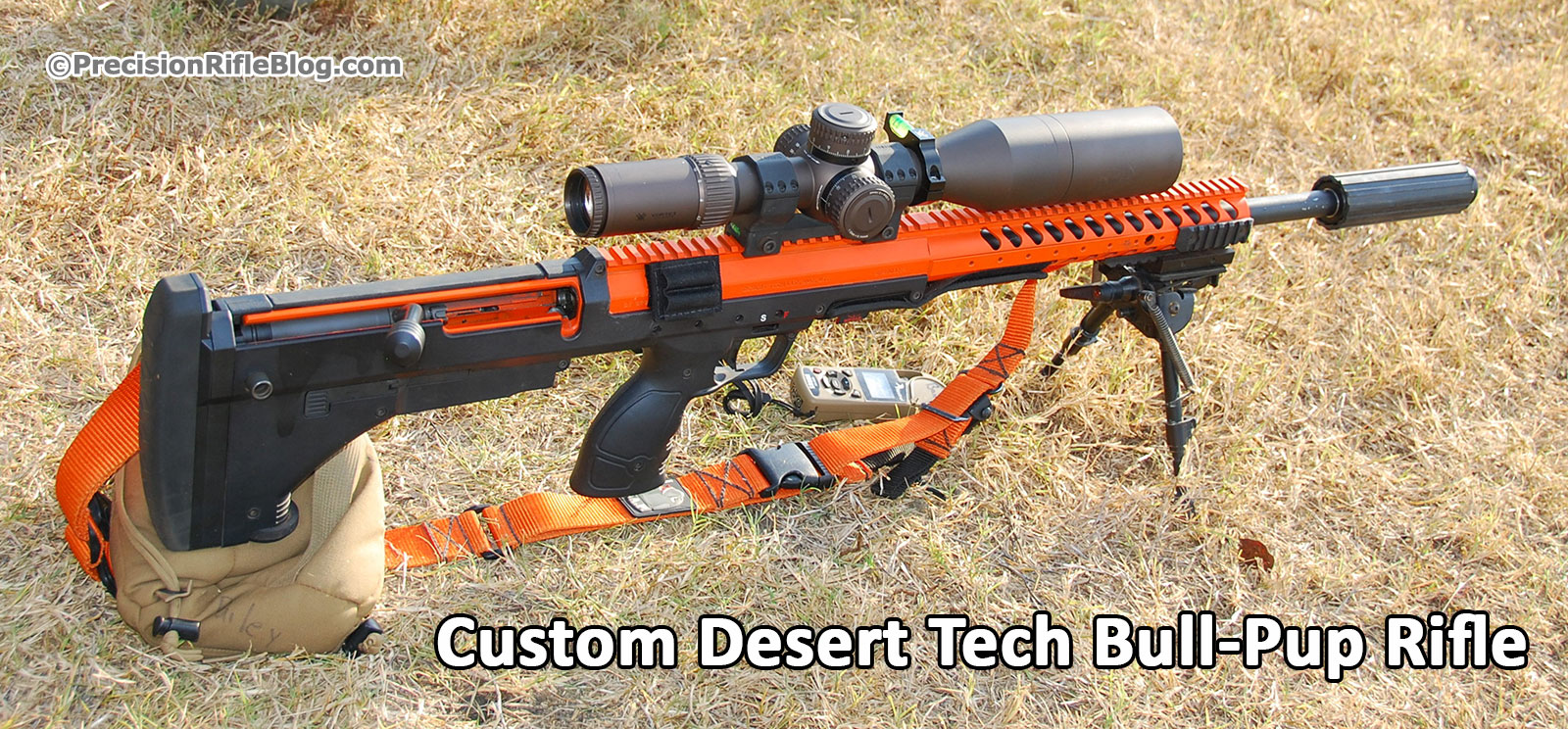 Custom Desert Tech Bull-Pup Rifle