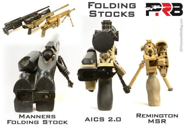 Folding Rifle Stocks and Chassis
