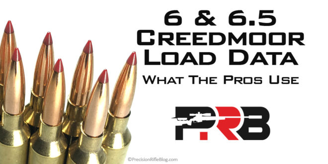 6mm 6.5 Creedmoor Load Data