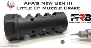 New APA Little Bastard Gen III Muzzle Brake