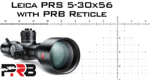 Leica PRS 5-30x56 with PRB Reticle