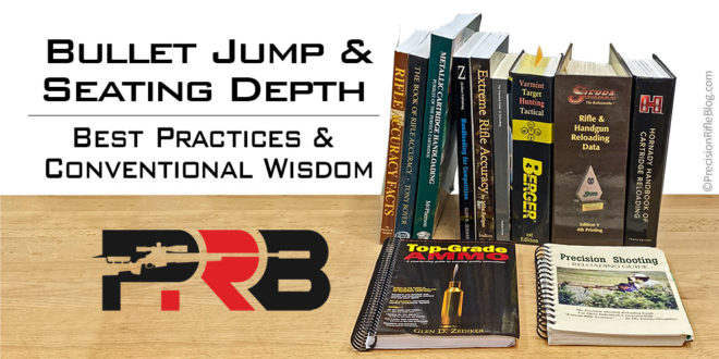 Bullet Jump and Seating Depth Reloading Best Practices